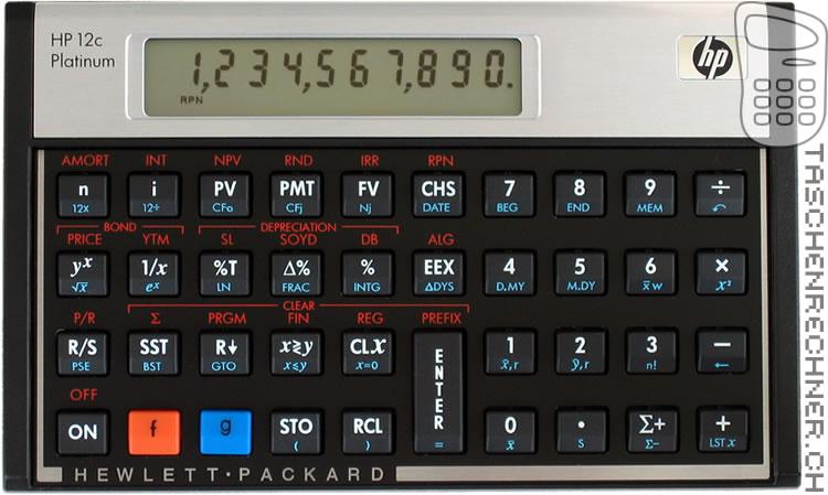 HP PLATINUM BAIXAR 12C
