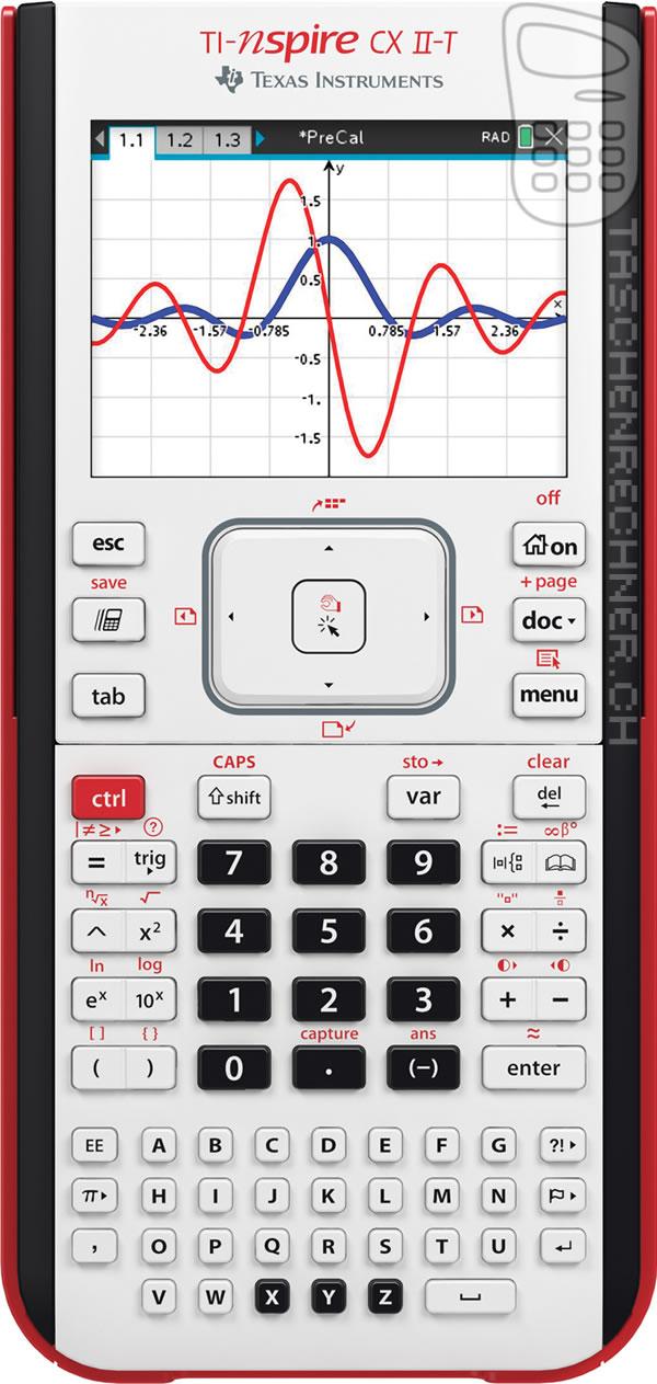 Texas Instruments TI-Nspire CX II-T numeric - calculator ch